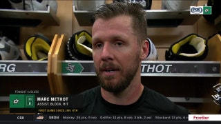 Marc Methot on his return to the lineup