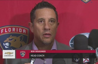 Bob Boughner: If you work hard, good things tend to happen