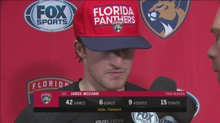 Jared McCann on Panthers' offense, return of Roberto Luongo