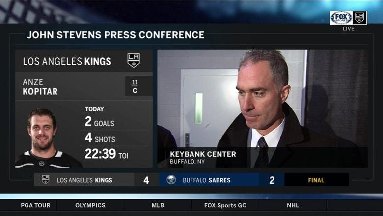 LA Kings 4, Sabres 2 (2/17)