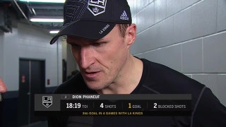 Dion Phaneuf (1 goal) continues hot streak as LA Kings down Jets