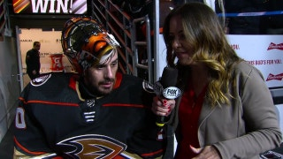 Ryan Miller notches 41 saves for Anaheim