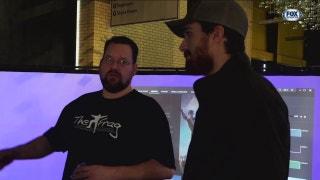 Stephen Johns visits Frag   Stars Insider