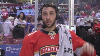 Vincent Trocheck overwhelmed after intense night