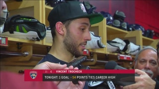 Vincent Trocheck: This was a powerful night