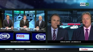 Razor and Ludz on Stars 2-0 win over the Kings | Stars Live