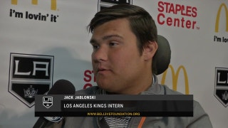 LA Kings Live: LA Kings Intern, Jack Jablonski inspires the hockey community and wants to make a difference with his Be13ve in Miracles Foundation
