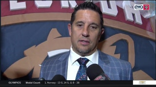 Bob Boughner on Dadanov:  'It was a big goal at the end of the game and he delivered'