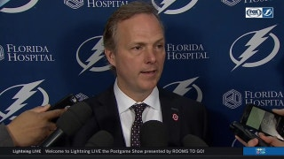 Jon Cooper on Bolts play: 'Played our best after we scored'