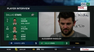 Alexander Radulov: 'Enough talking we have to start playing harder'