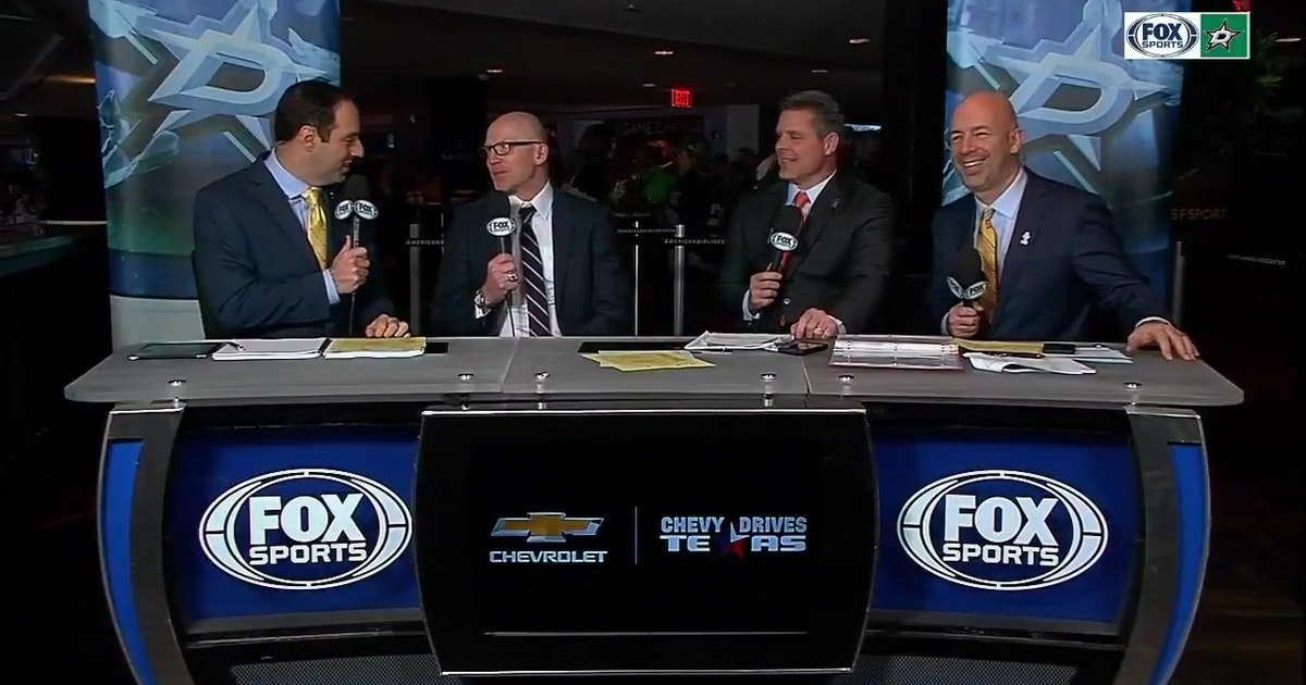Mike Keane joins the desk during Intermission   Stars Live