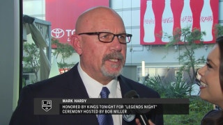 "LA Kings Live: Mark Hardy honored during ""Legends Night"""