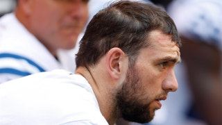 Skip Bayless says Colts QB Andrew Luck has never lived up to his 'next Elway' billing