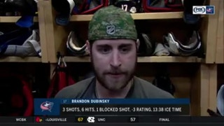 Brandon Dubinsky says Blue Jackets need to focus on finishing