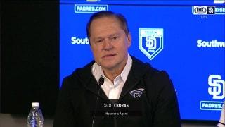 Scott Boras calls San Diego 'a volcano of hot talent lava'