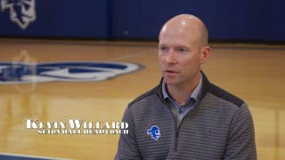 Kevin Willard talks with Vin Parise about coaching in the Big East and his special group of Seniors