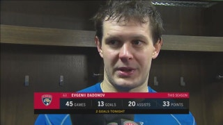 Evgenii Dadonov on high-scoring game: That was probably fun to watch