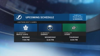 Lightning host Maple Leafs in battle of Atlantic Division's best