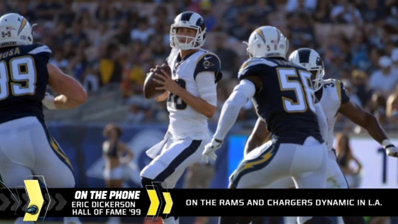 Eric Dickerson on the Chargers-Rams dynamic in LA