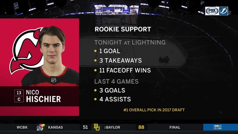 Lightning bested by Devils' youth movement Saturday