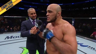 Ilir Latifi put Ovince Saint Preux to sleep, then called out Daniel Cormier | FIGHTING WORDS | UFC on FOX