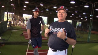 Chopcast LIVE: Kevin Seitzer gets Braves back to basics with these hitting drills