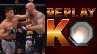 Alan Jouban KO'd Ben Saunders, Cormier breaks it down | ReplayKO | UFC on FOX