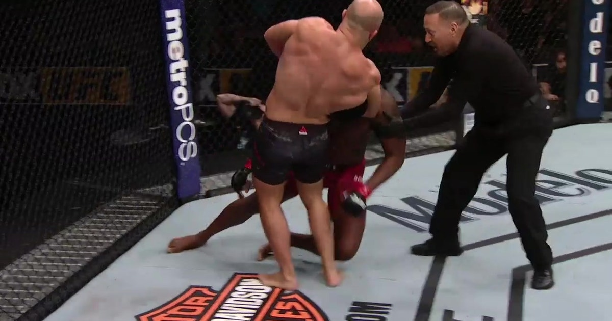 Ilir Latifi submits Ovince Saint Preux | HIGHLIGHTS | UFC on FOX