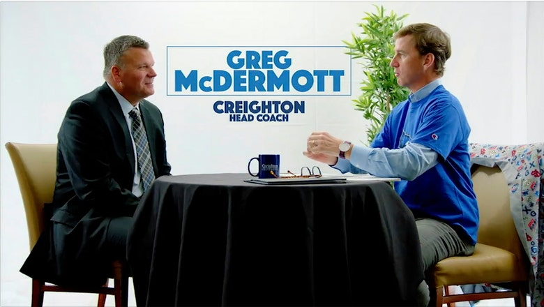 Cooper Manning sits down with Creighton coach Greg McDermott
