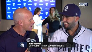 Padres' talent level is what attracted Hosmer most to San Diego