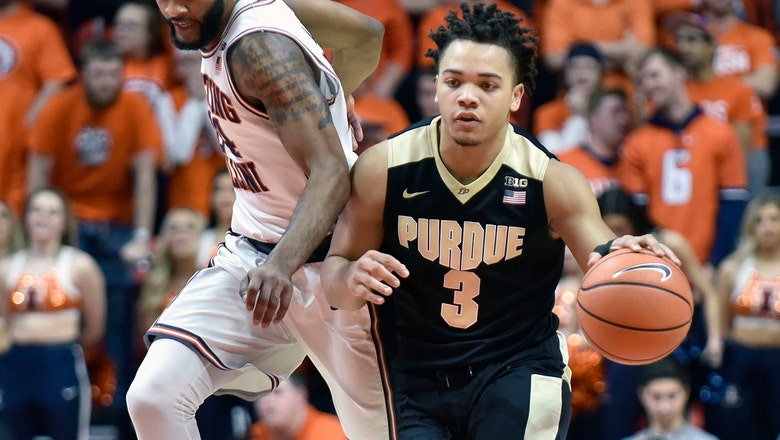 Edwards carries Purdue past Illinois with career-high 40 points