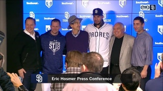 Padres will look for Hosmer's leadership qualities to guide young roster
