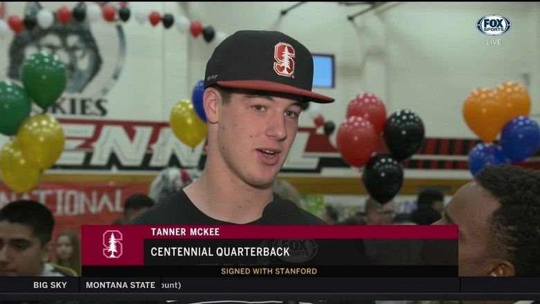 National Signing Day: It's the tree for McKee! QB Tanner McKee picks Stanford