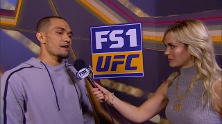 Yancy Medeiros talks to Laura Sanko | WEIGH-IN | UFC FIGHT NIGHT