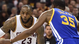 Colin Cowherd unveils why the world is ready to see LeBron playing with KD and Steph on Warriors