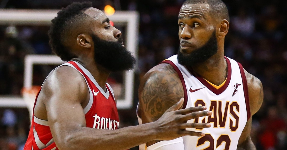 The King vs The Beard: Cris Carter reveals if LeBron James ...