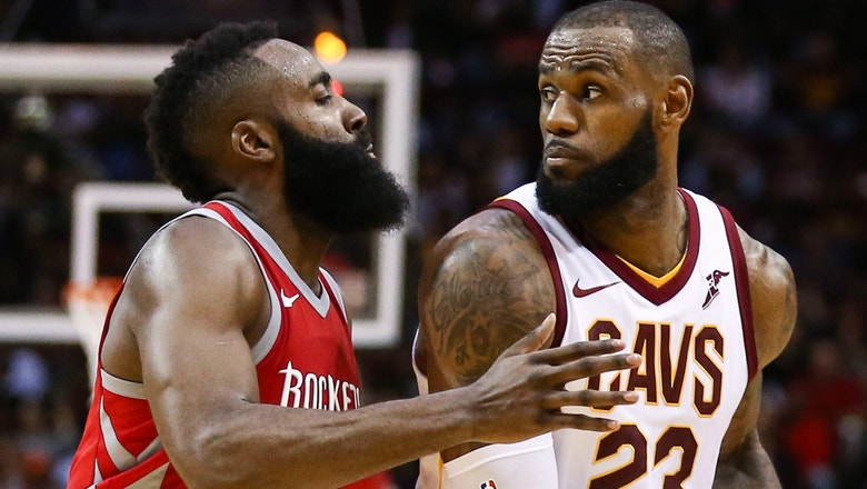 The King vs The Beard: Cris Carter reveals if LeBron James can surpass James Harden as the MVP