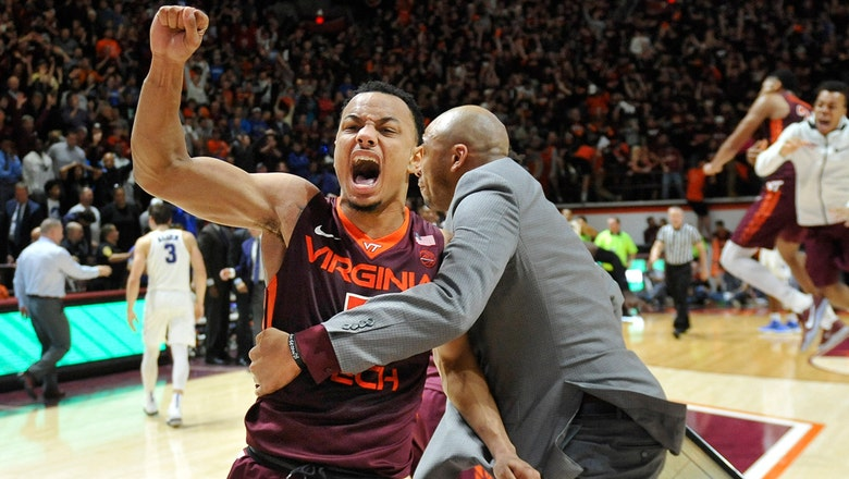 Virginia Tech stuns No. 5 Duke with late tip-in