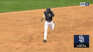 WATCH: Padres talented youth on display in first Spring Training game