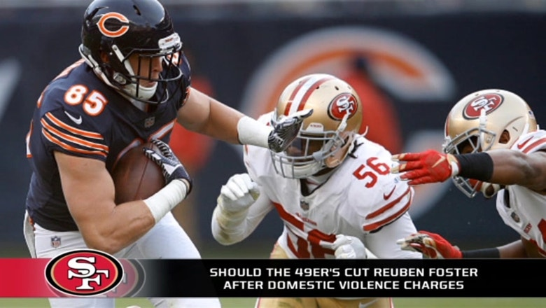 What should the 49ers do with Reuben Foster?