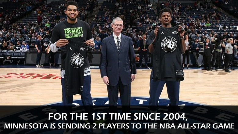 Timberwolves in the All-Star Game