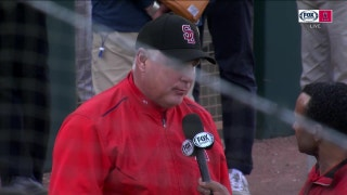 Manager Mike Scioscia gives his thoughts following the Angels' Spring Training Opener