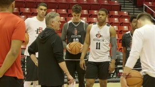 Aztecs practice this week with a renewed energy