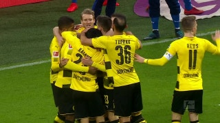 Michy Batshuayi goal puts Dortmund in front vs. Hamburg | 2017-18 Bundesliga Highlights