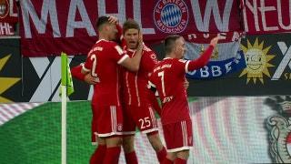 Sandro Wagner heads in the equalizer vs. Wolfsburg | 2017-18 Bundesliga Highlights
