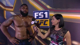 Curtis Blaydes talks to Megan Olivi post-fight | INTERVIEW | UFC 221