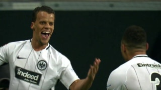 Timothy Chandler makes it 1-1 for Frankfurt against RB Leipzig | 2017-18 Bundesliga Highlights