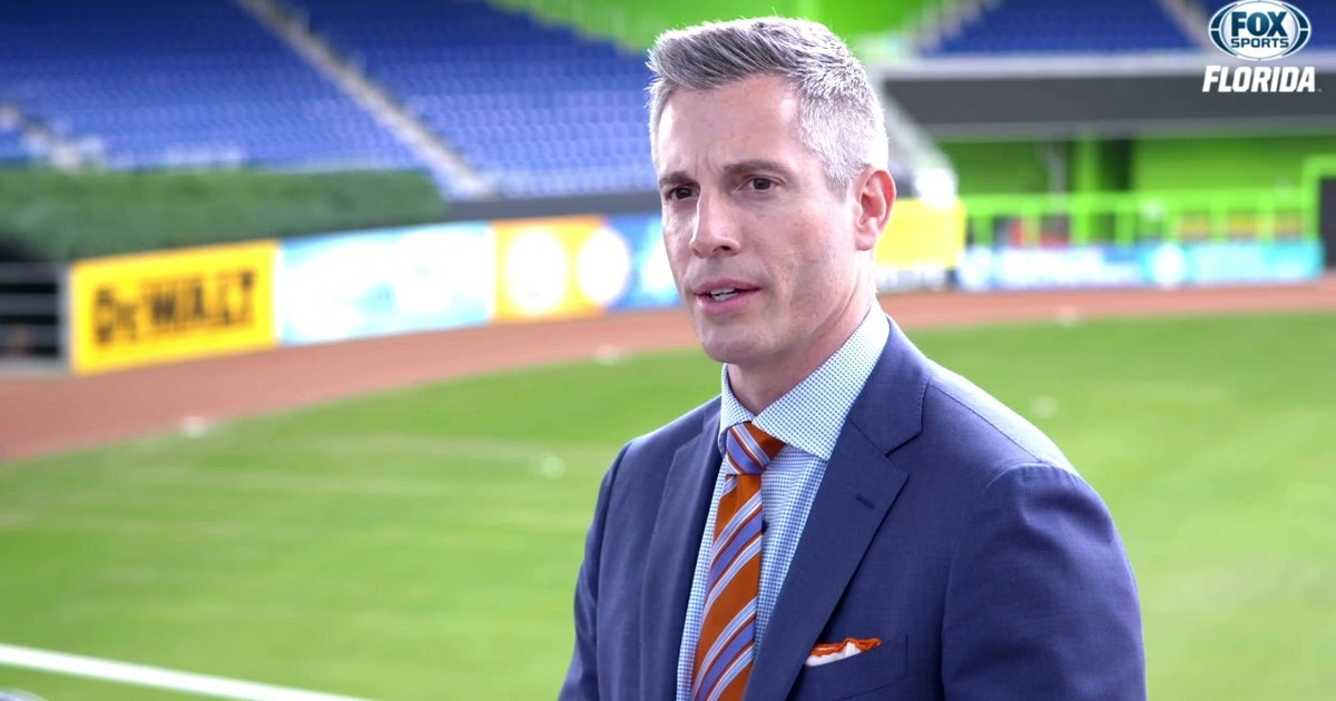74258561843 Meet new Marlins president of business operations Chip Bowers