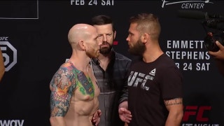 Jeremy Stephens and Josh Emmett face off ahead of UFC Fight Night | WEIGH-IN | UFC on FOX