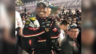 Derrell Edwards makes NASCAR history